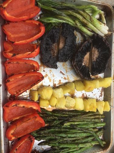 Grilled Seasonal Vegetables