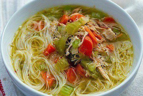 Loaded Chicken Noodle Soup