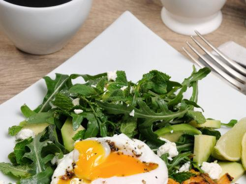 Arugula Salad with Eggs – my go to Paleo meal