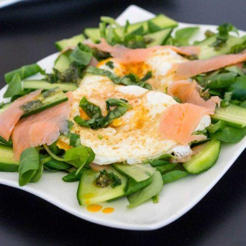 Smoked Salmon and Egg Salad – Great for any meal!