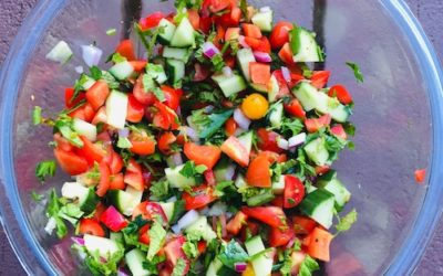 Israeli Salad – Quick, Easy and Versatile