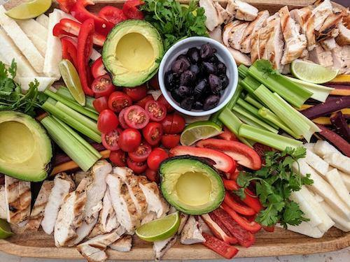 Fajita Inspired Dinner Board – Perfect For Guests